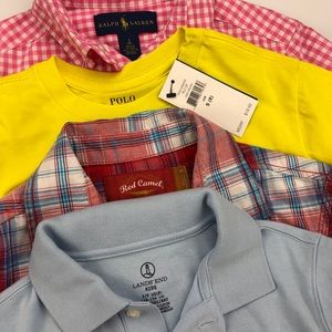Boys Shirts Size 8